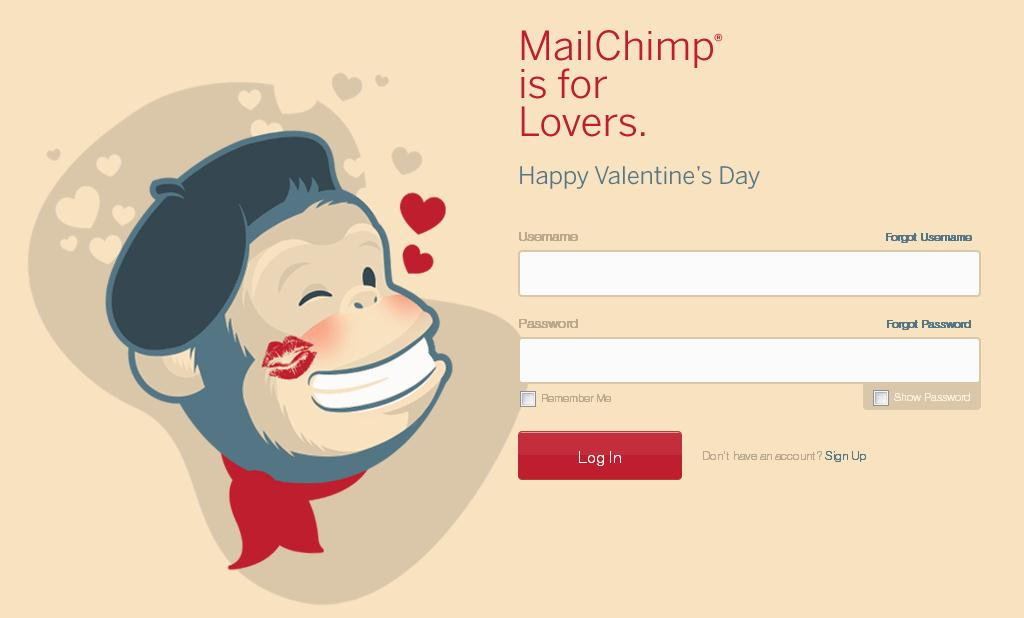 MailChimp is for Lovers