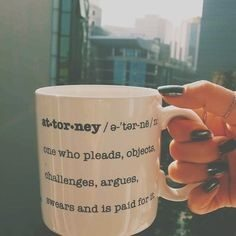 Attorney Coffee Mug